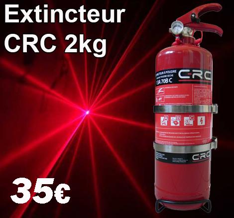 extincteur 2kg 35€