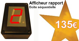 135€ l'afficheur de rapport sequentiel