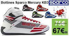 63€ les bottines sparco KB3