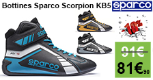 77€ les bottines sparco Scorpion