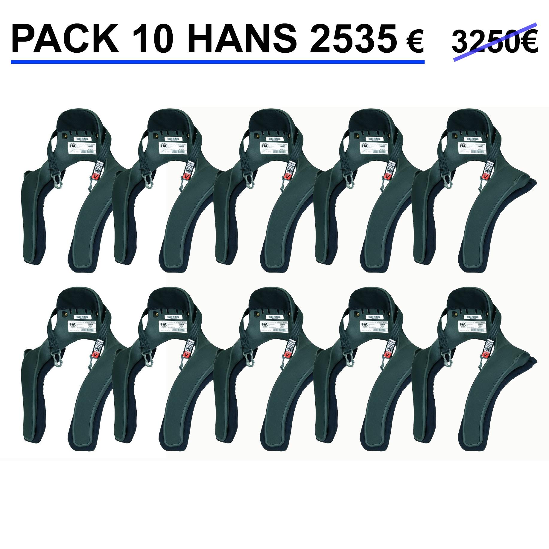 Pack 10 hans